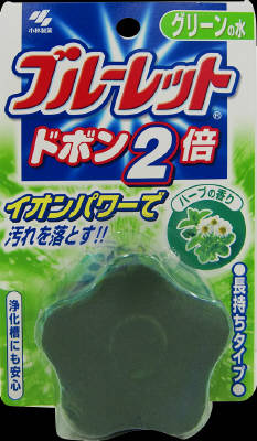 小林製薬 ブルーレット ドボン2倍ハーブ 120g【水洗トイレ用タンククリーナー】