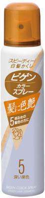 ホーユー ビゲン カラースプレー 5【白髪用カラーリング剤】