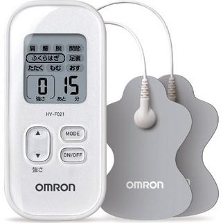 オムロン低周波治療器HV-F021-W【ホワイト】