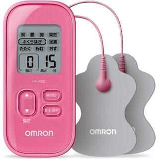 オムロン低周波治療器HV-F021-PK【ピンク】