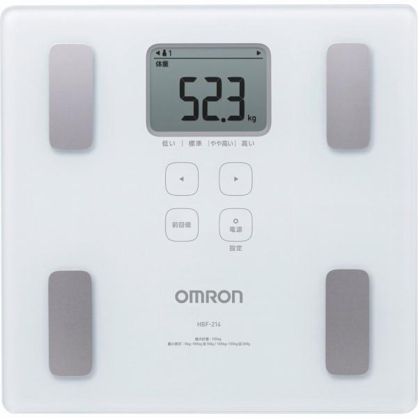 オムロン体組成計カラダスキャンHBF-214-W【ホワイト】