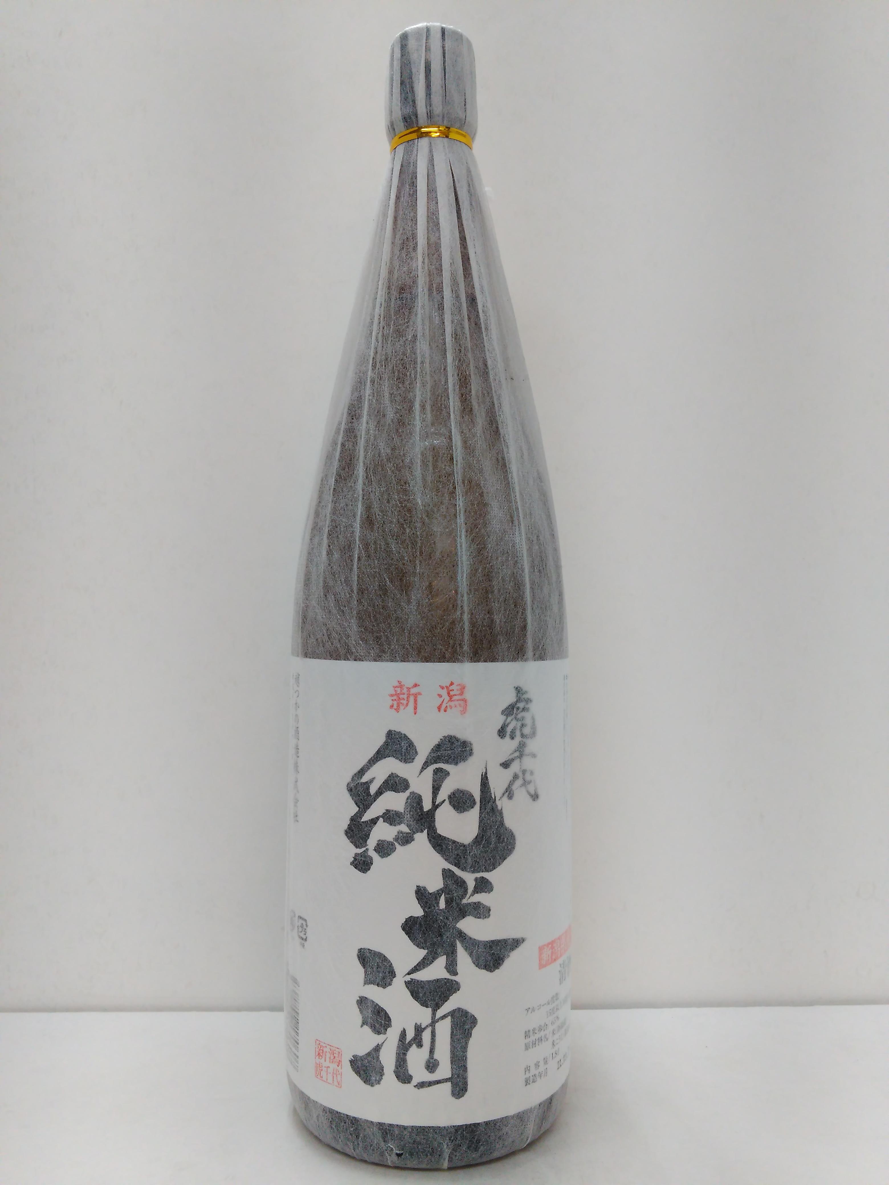 虎千代 純米酒 1800ML