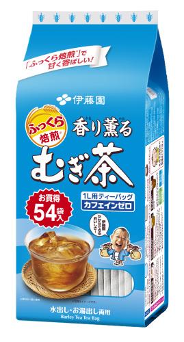 香り薫る麦茶ティーバック54袋入