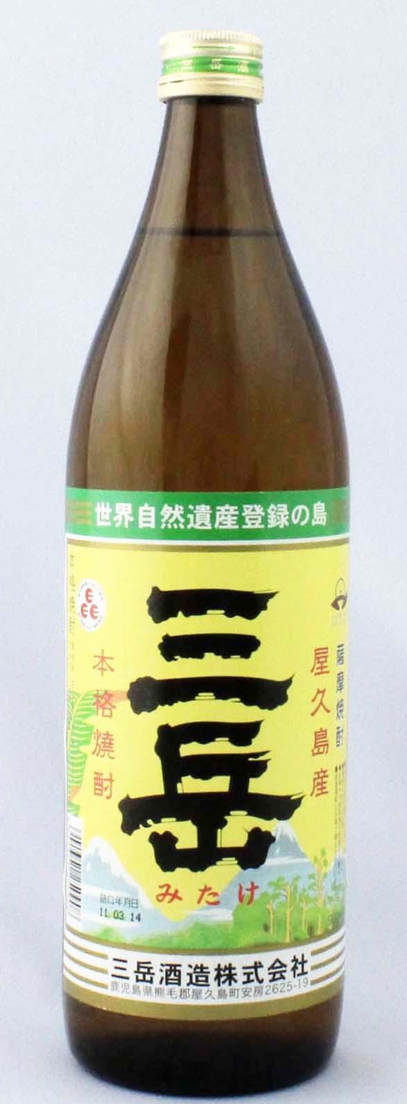 三岳 芋焼酎 25度900ML