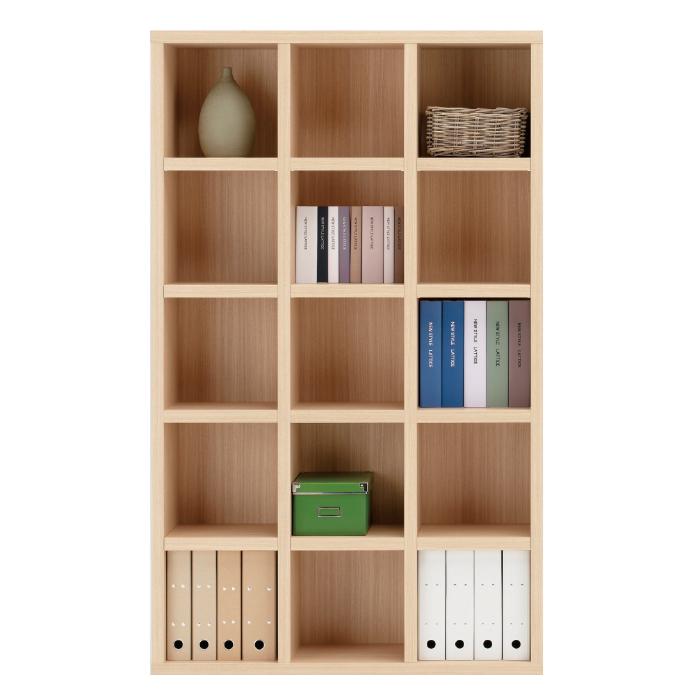 【お取り寄せ】フナモコオープン書棚FBA-110Tエリーゼアッシュニューラチスハイタイプ