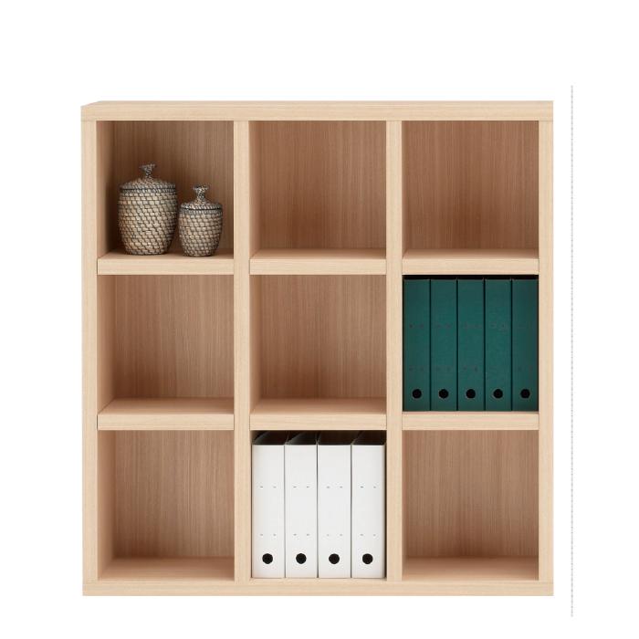 【お取り寄せ】フナモコオープン書棚FHA-110Lエリーゼアッシュニューラチスロータイプブックボード書斎