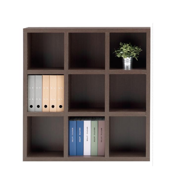 【お取り寄せ】フナモコオープン書棚FHR-110Lレベッカオークニューラチスロータイプブックボード書斎
