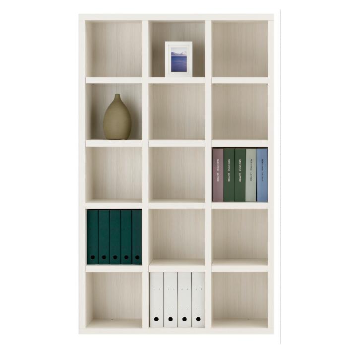 【お取り寄せ】フナモコオープン書棚FBS-110Tホワイトウッドニューラチスハイタイプブックボード書斎