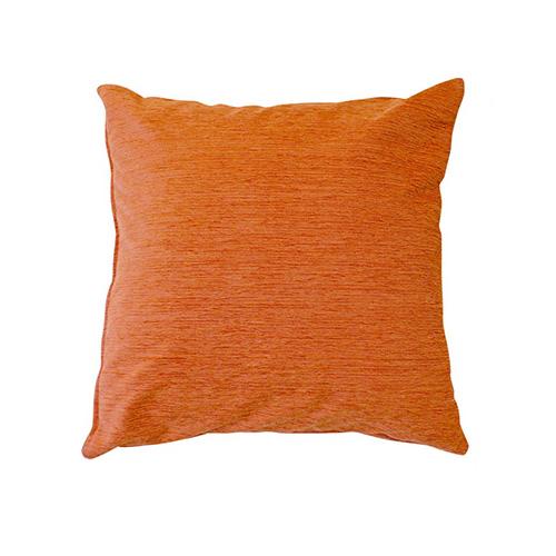 小栗 メリーナイト ディア クッションカバー 45×45cm 無地 オレンジ