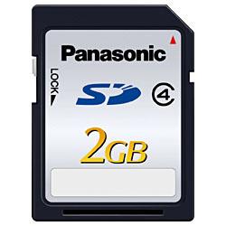 パナソニックSDメモリーカードRP-SDL02GJ1K【2GB】