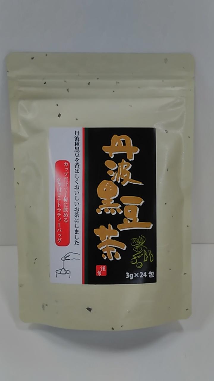 【TAKEYAスマイル便 対象品】丹波黒豆茶ティーバッグ 24袋入