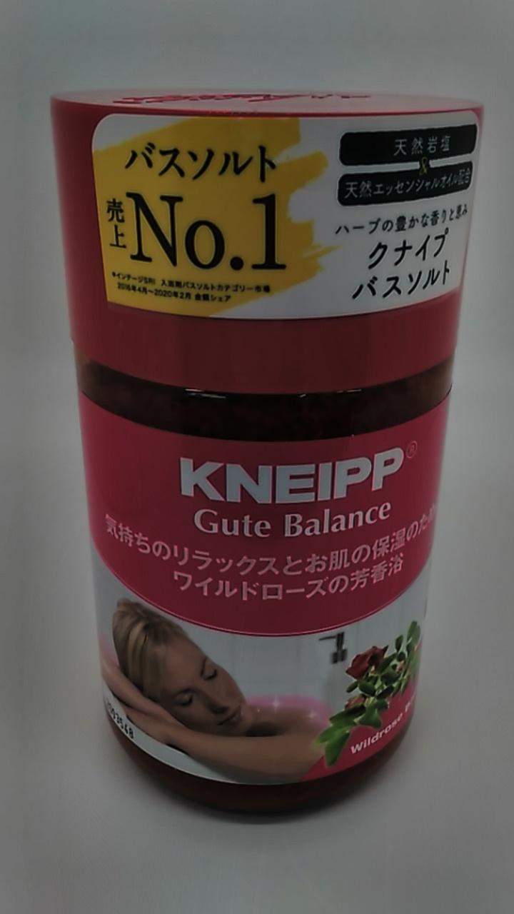 クナイプ グーテバランス バスソルト ワイルドローズの香り 850g