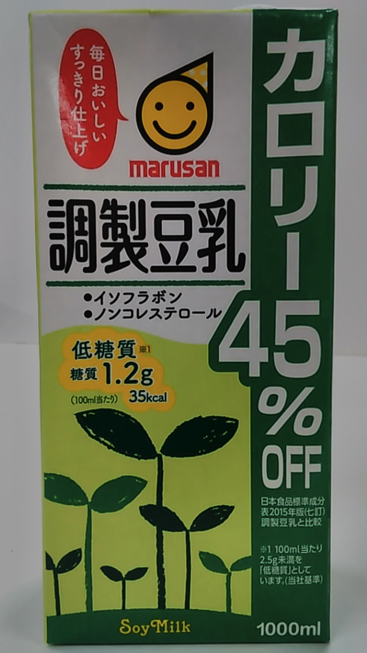 マルサンアイ 調整豆乳 カロリー45%オフ 1000ml
