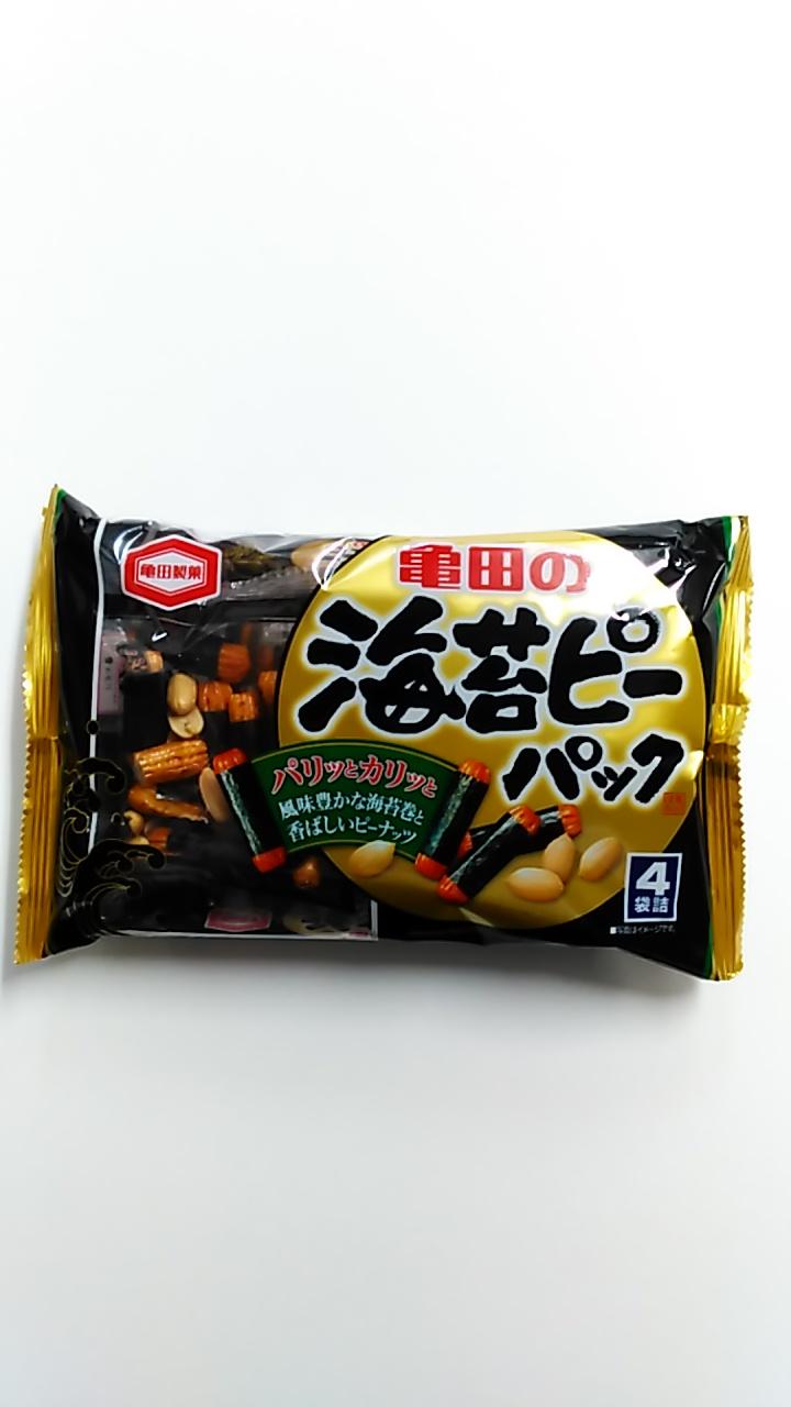 亀田製菓 海苔ピーパック 89g