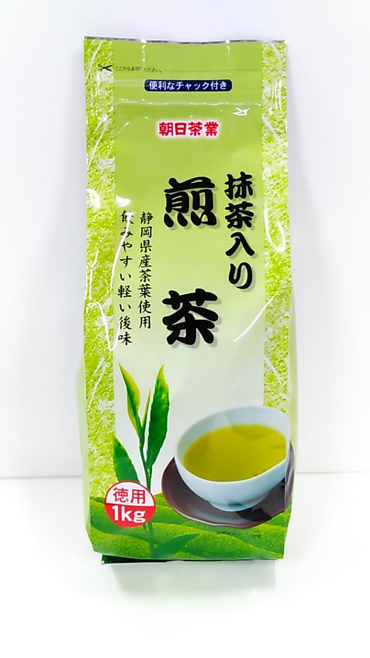 朝日茶業 徳用抹茶入り煎茶 1kg