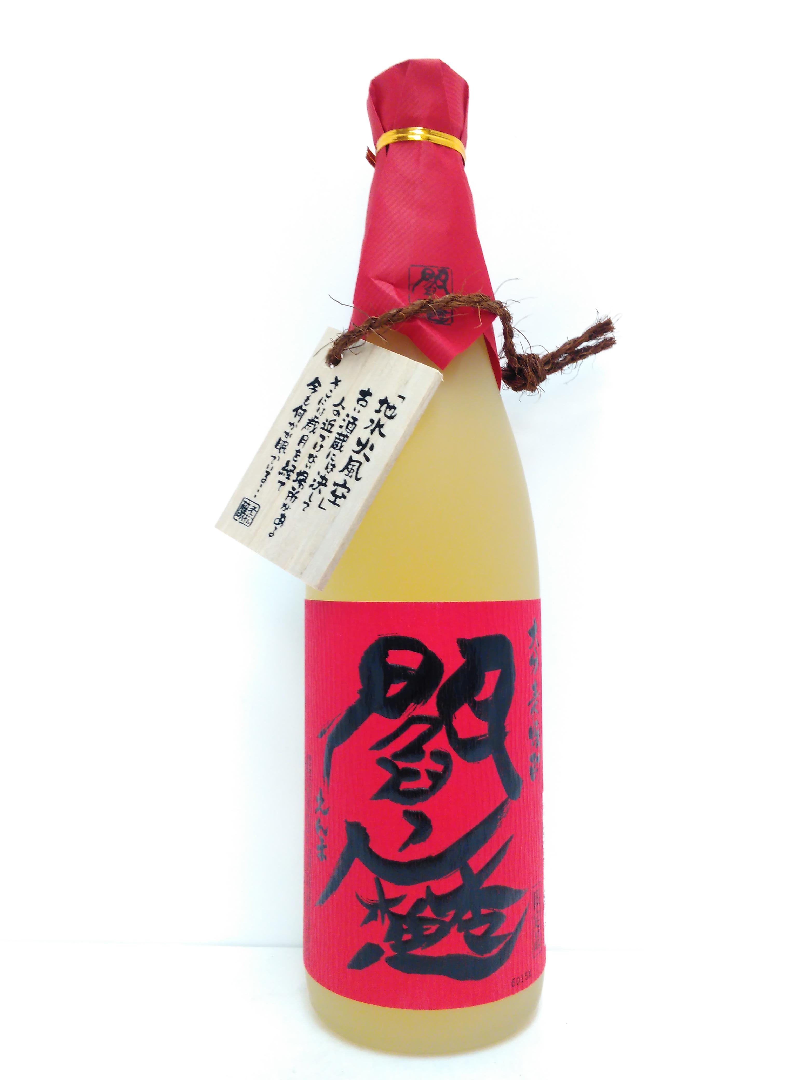閻魔 長期貯蔵麦焼酎(赤閻魔) 25度 720ml