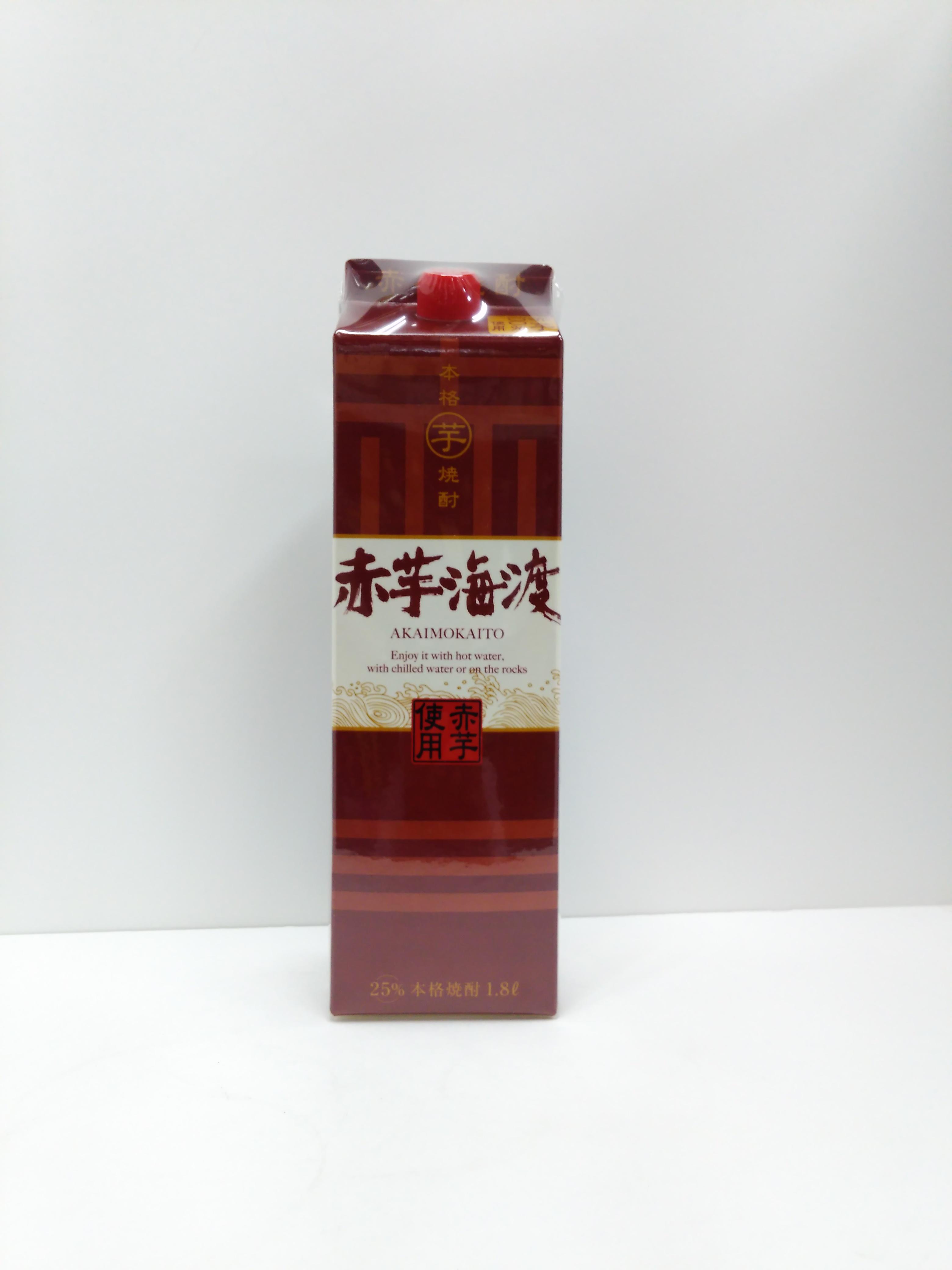 合同酒精 本格芋焼酎 赤芋海渡 25度 1800ml
