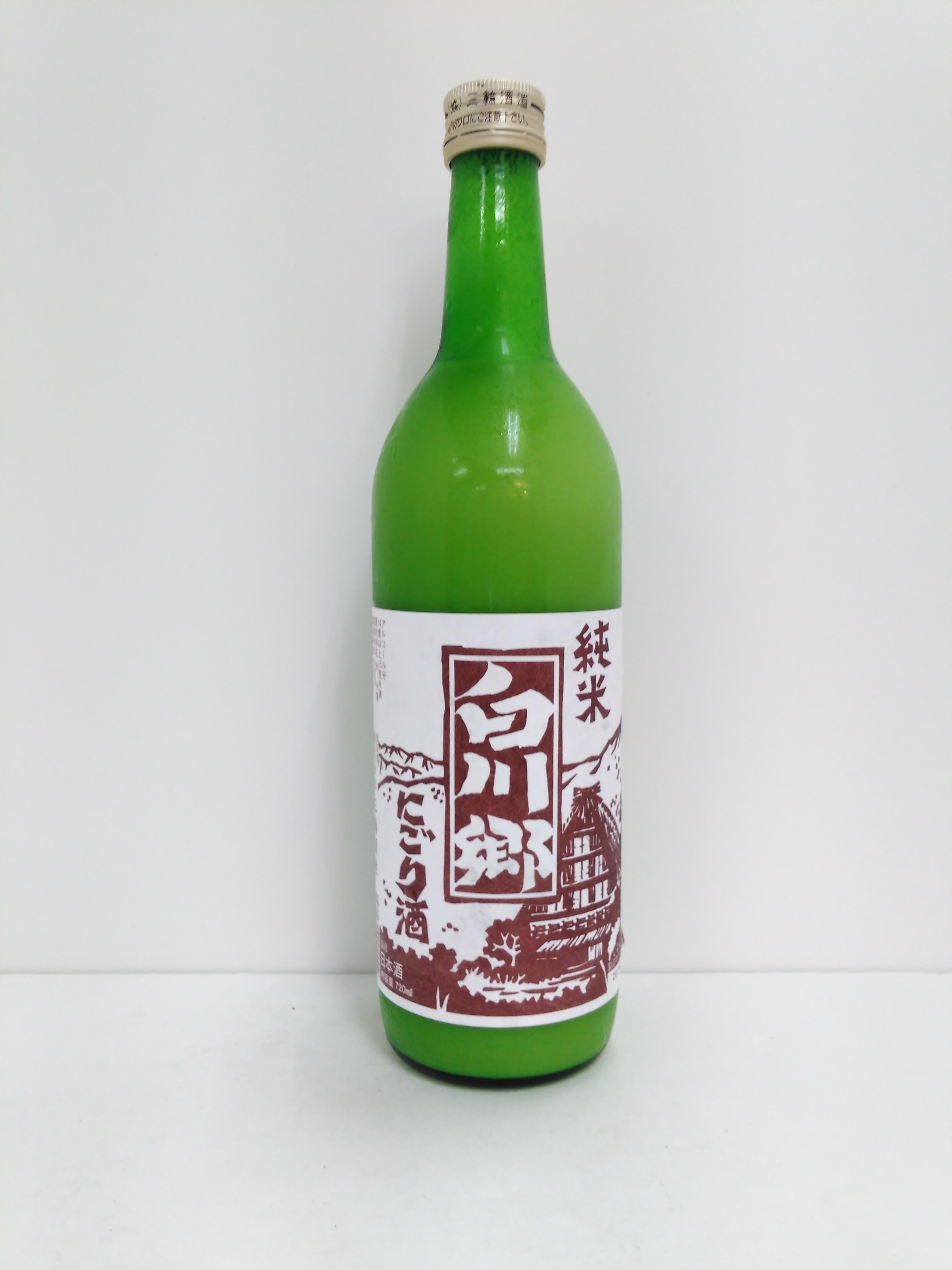 【TAKEYAスマイル便 対象品】三輪酒造 白川郷 純米にごり 720ml