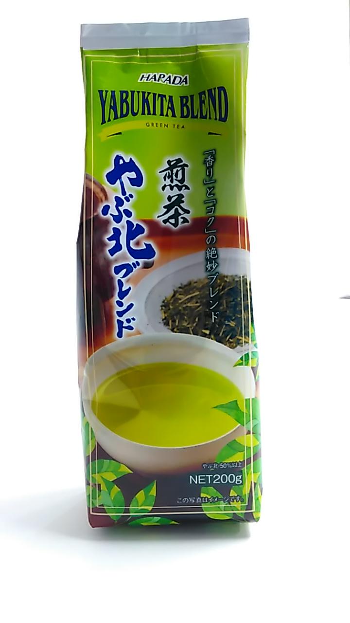 【TAKEYAスマイル便 対象品】ハラダ やぶ北ブレンド煎茶 200g