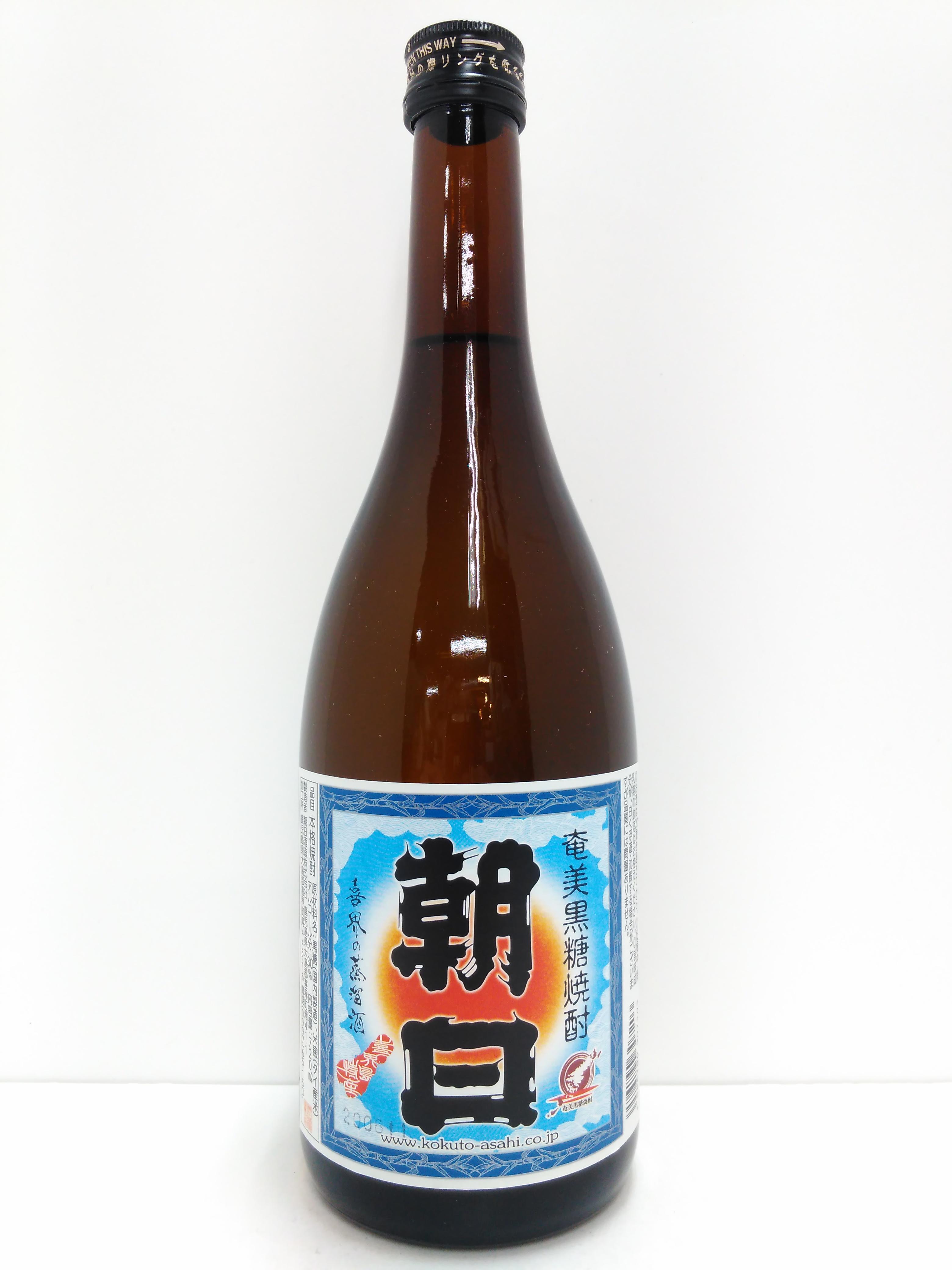 朝日 黒糖焼酎 30度 720ml