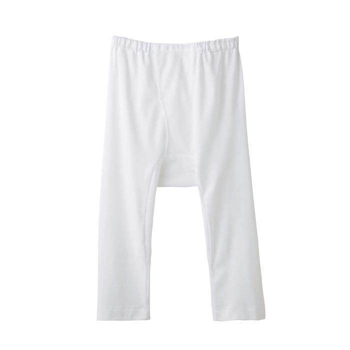 グンゼ快適工房KH5007ホワイトサイズM半ズボン下(前開き【GUNZE】