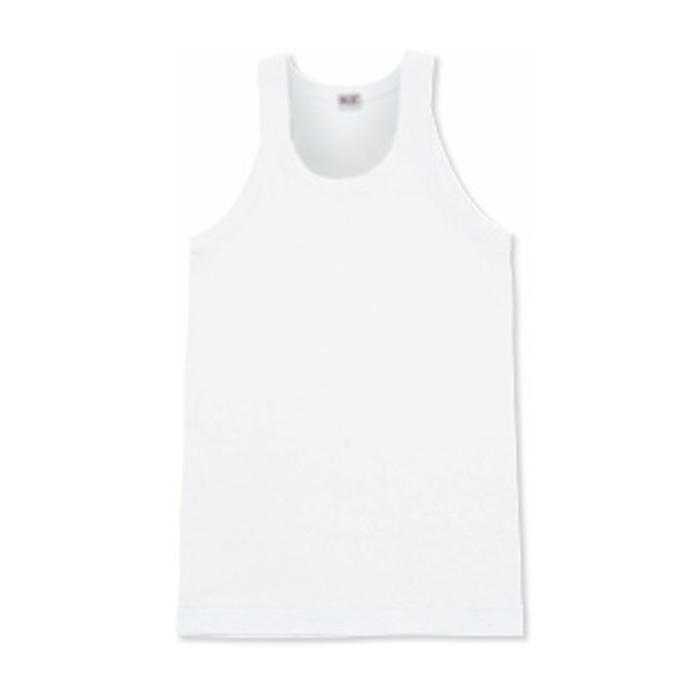 BVDG0153ホワイトサイズLメンズランニングシャツ【BVD】