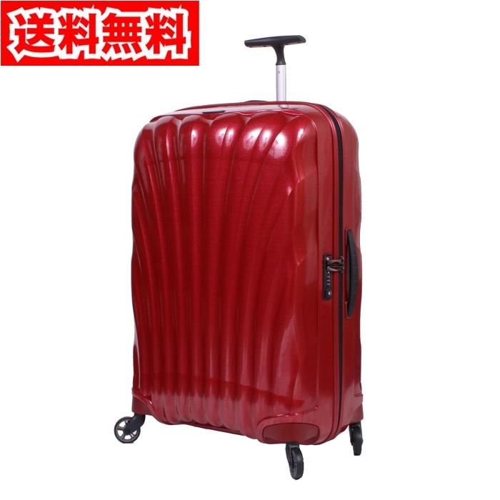 【送料無料!】サムソナイト コスモライト スピナー75 94L 73351 1726 レッド スーツケース【Samsonite 3.0 COSMOLITE】