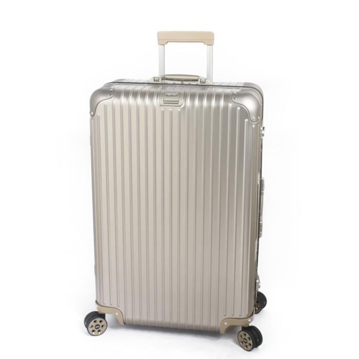 RIMOWAスーツケースTOPASTITANIUMトパーズチタニウム924.73.03.584.5L【リモワリモアTSAロックE-Tag】