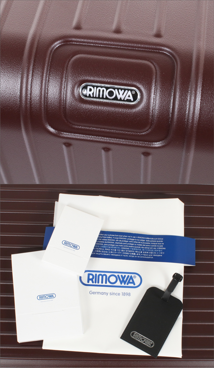 【お取り寄せ】RIMOWA スーツケース SALSA サルサ 811.70.14.5 カルモナレッド 77.5L 【リモワ リモア  TSAロック E-Tag】
