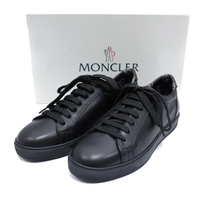 モンクレールMALFI00461-50999ブラックサイズ目安:22.5cmレディースシューズ【MONCLERBK】