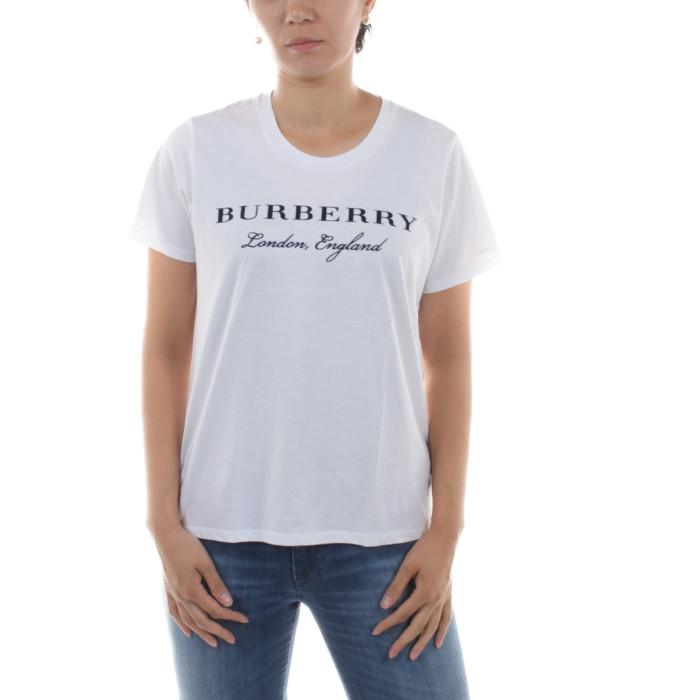 【送料無料!】バーバリー 4061247 ホワイト サイズ L レディース 半袖Tシャツ 【BURBERRY WH】 2018秋冬