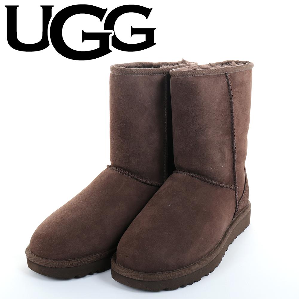 UGG(アグCLASSICMINIII1016223チョコレートムートンブーツクラシックショートWOMENSレディース9(26cm
