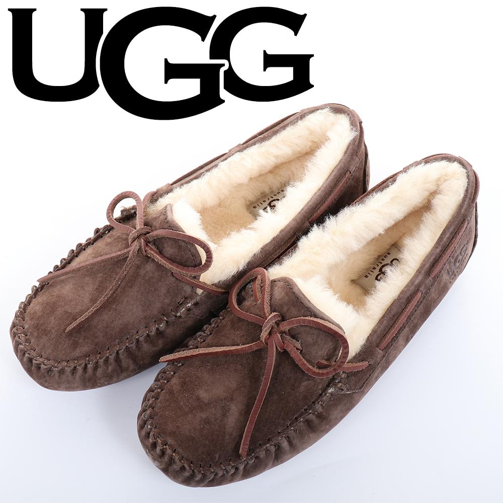 UGG(アグDAKOTA5612ESPRESSOエスプレッソスリッポンローファーダコタWOMENSレディース6(23cm