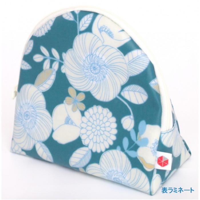 sussuスッス化粧ポーチ50P-FLOWERWHITE