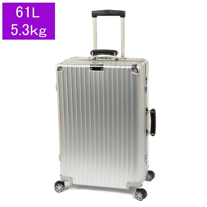 リモワRIMOWAスーツケースCLASSICCheckinM972.63.00.461L5.3kgシルバー3泊~5泊目安TSAロック