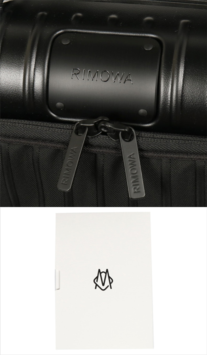 【送料無料!】リモワ RIMOWA スーツケース ESSENTIAL Sleeve 842.52.63.4 33L 3.5kg マットブラック 1泊~3泊目安 TSAロック