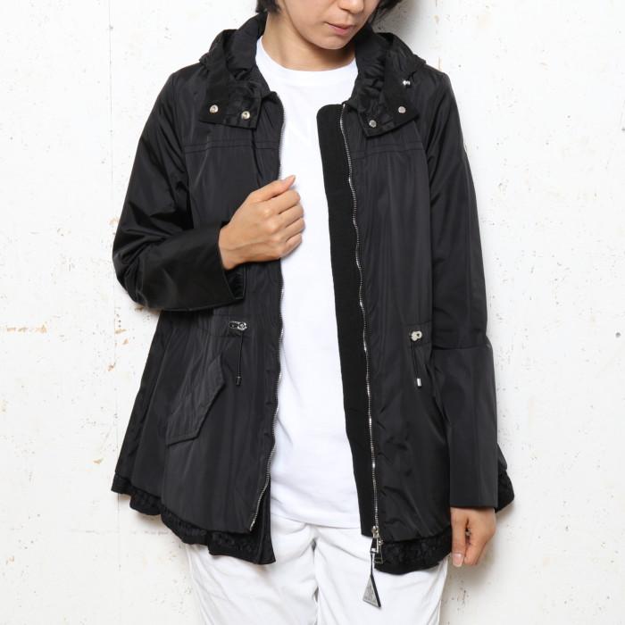【送料無料!】モンクレール MONCLER レディース ジャケット LOTUS 999 ブラック【BK】 mfcmdmohe