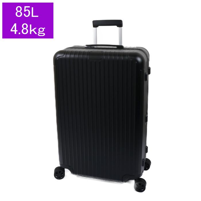 リモワ RIMOWA スーツケース ESSENTIAL Check in L 832.73.63.4 85L 4.8kg マットブラック 4泊~7泊目安 TSAロック