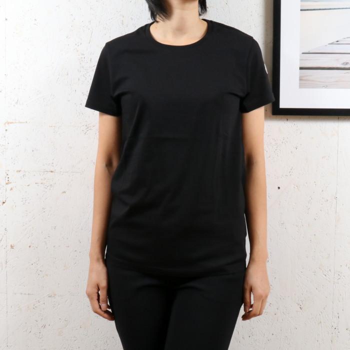 【送料無料!】モンクレール MONCLER レディース Tシャツ 80904 999 ブラック【BK】