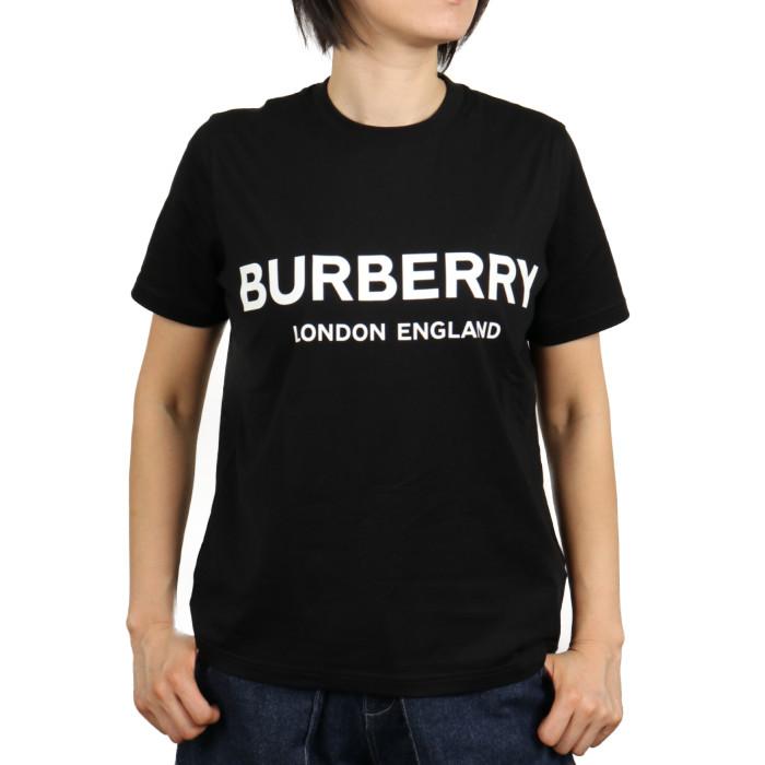 【送料無料!】バーバリー BURBERRY レディース 半袖Tシャツ 8011651  ブラック【BK】 2020SPSU