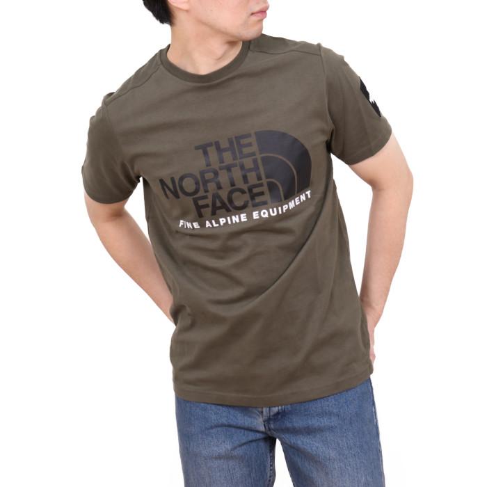 ノースフェイス THE NORTH FACE メンズ 半袖Tシャツ MOS TEE NF0A4M6N  グリーン【GN】2020sstshirtsco