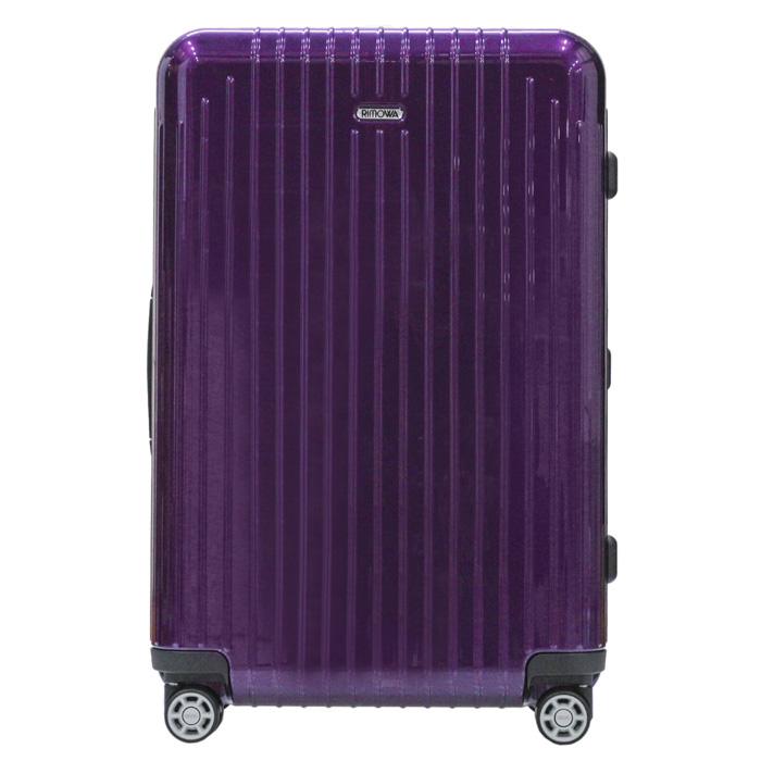【お取り寄せ】【送料無料】リモワ RIMOWA スーツケース サルサエアー 820.63.22.4  62L 3.2kg バイオレット 5泊~7泊目安 TSAロック 4輪