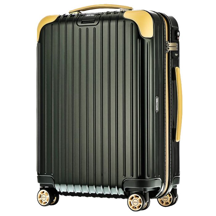 【お取り寄せ】リモワ RIMOWA スーツケース ボサノバ 870.52.41.4  32L 3.9kg グリーン 2泊~3泊目安 TSAロック 4輪 機内持ち込み可