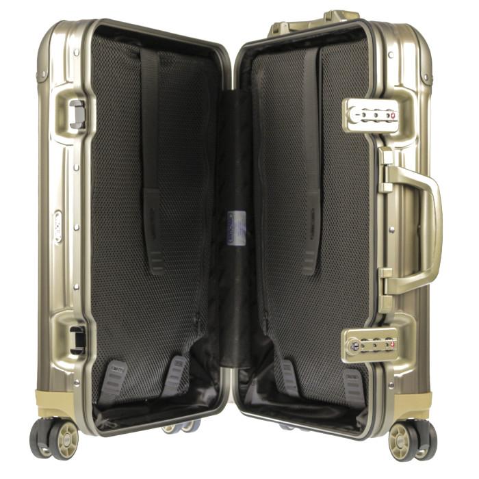 【お取り寄せ】リモワRIMOWAスーツケーストパーズチタニウム923.52.03.432L4.2kgゴールド2泊~3泊目安TSAロック4輪