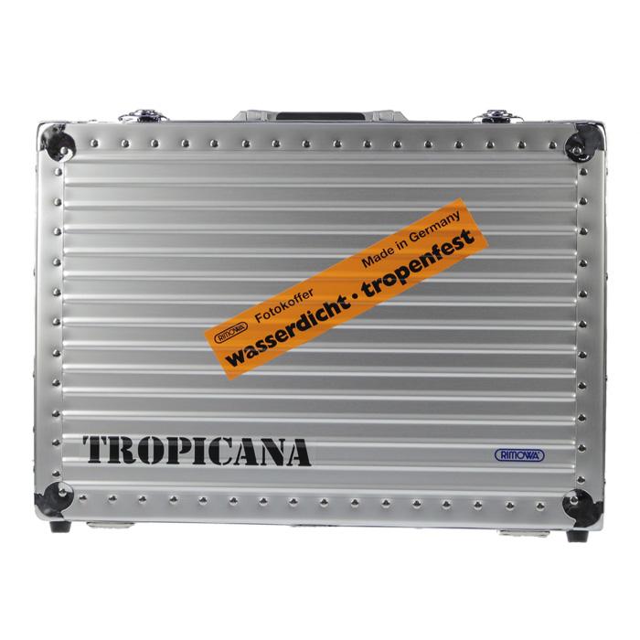 【送料無料!】リモワ RIMOWA トロピカーナ ハンドケース 370.05.00.0 27L ㎏ シルバー キーロック 機内持ち込み可