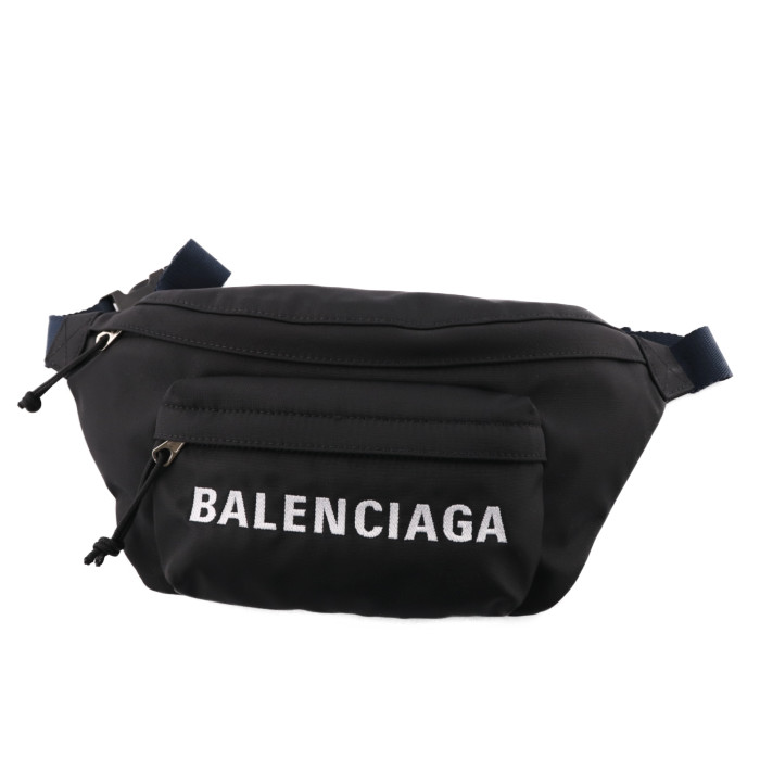 バレンシアガBALENCIAGAベルトバッグボディバッグ533009HPG1X1090ブラックネイビーメンズレディースPRICEDBW フランスブランドおでかけカジュアル旅行トラベル