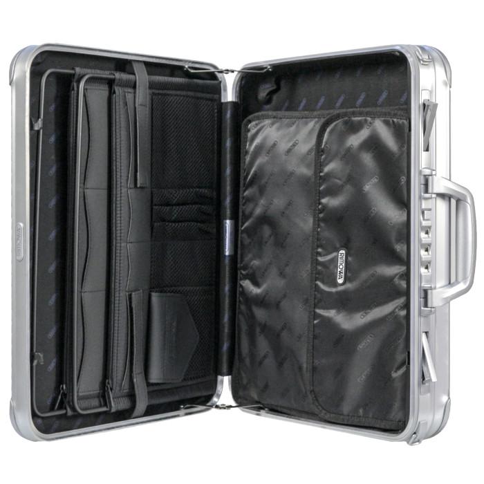 【送料無料!】リモワ RIMOWA アタッシュ ノートブック 900.09.00.0 12L 2.8kg シルバー ダイヤルロック 機内持ち込み可