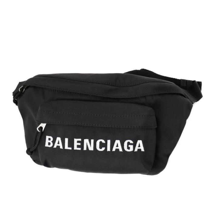 バレンシアガBALENCIAGAベルトバッグボディバッグ533009HPG1X1070ブラックメンズレディースPRICEDBW フランスブランドおでかけカジュアル旅行トラベル