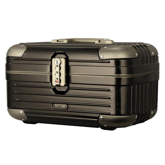 【送料無料!】リモワ RIMOWA リンボ ビューティーケース 881.38.33.0 16L 1.7kg ブラウン TSAロック 機内持ち込み可