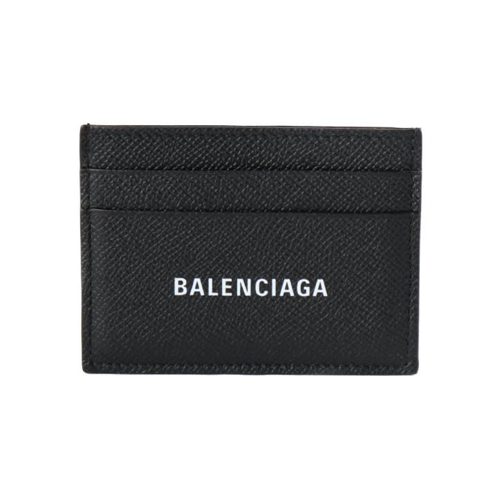 バレンシアガBALENCIAGAカードケースキャッシュカードホルダー5943090OTV31000ブラックメンズPRICEDBW|フランスブランドスリムプレゼントギフト贈り物誕生日お祝い